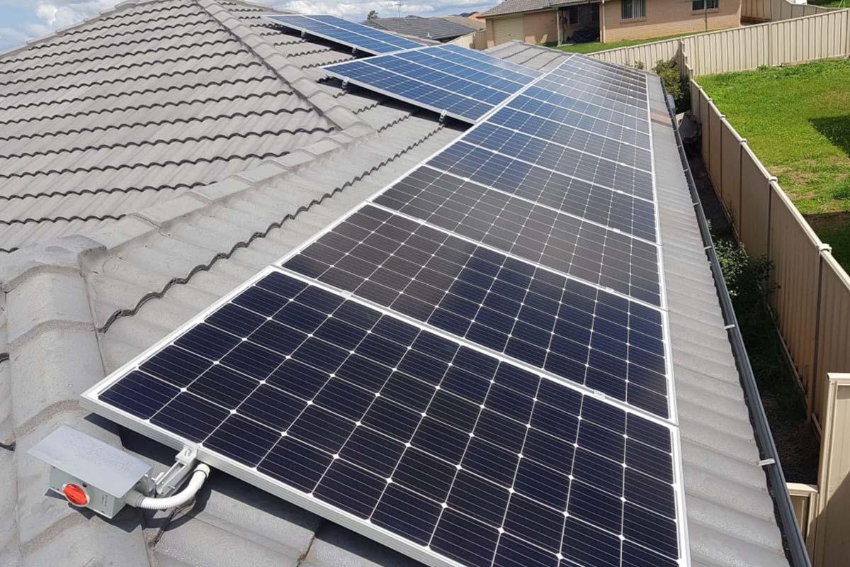 Aztech Solar Rutherford 8.64kW Solar PV Installation